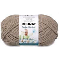 Bernat Baby Blanket Knitting Yarn Wool 300g - 10029 TAUPE
